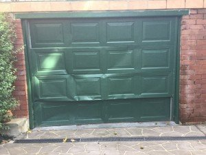 Broken Garage door to repair
