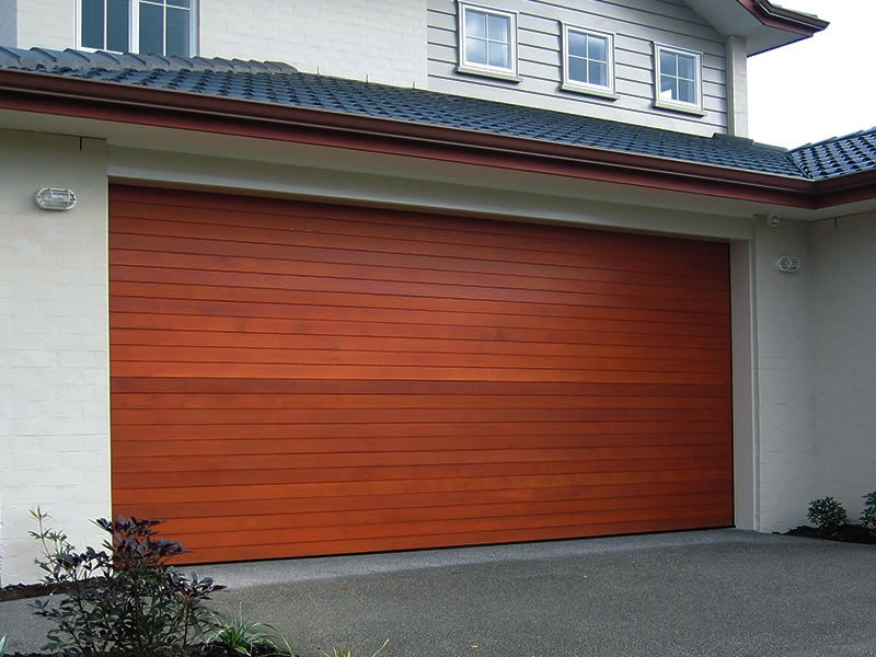 Cedar Wooden Garage Door 1