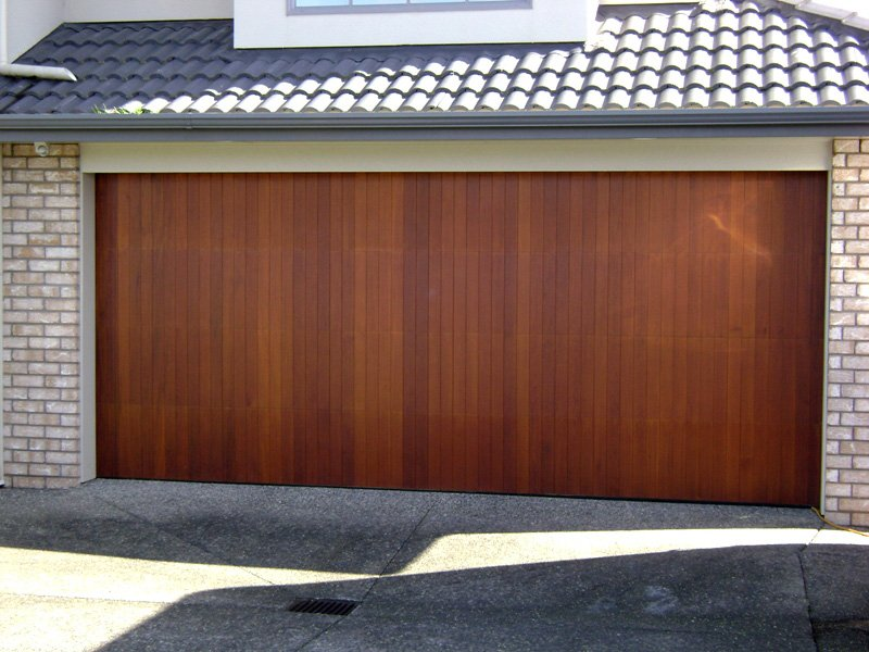 Cedar Wooden Garage Door 2