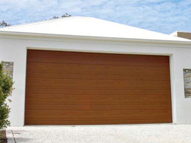 Timber Garage Door 4