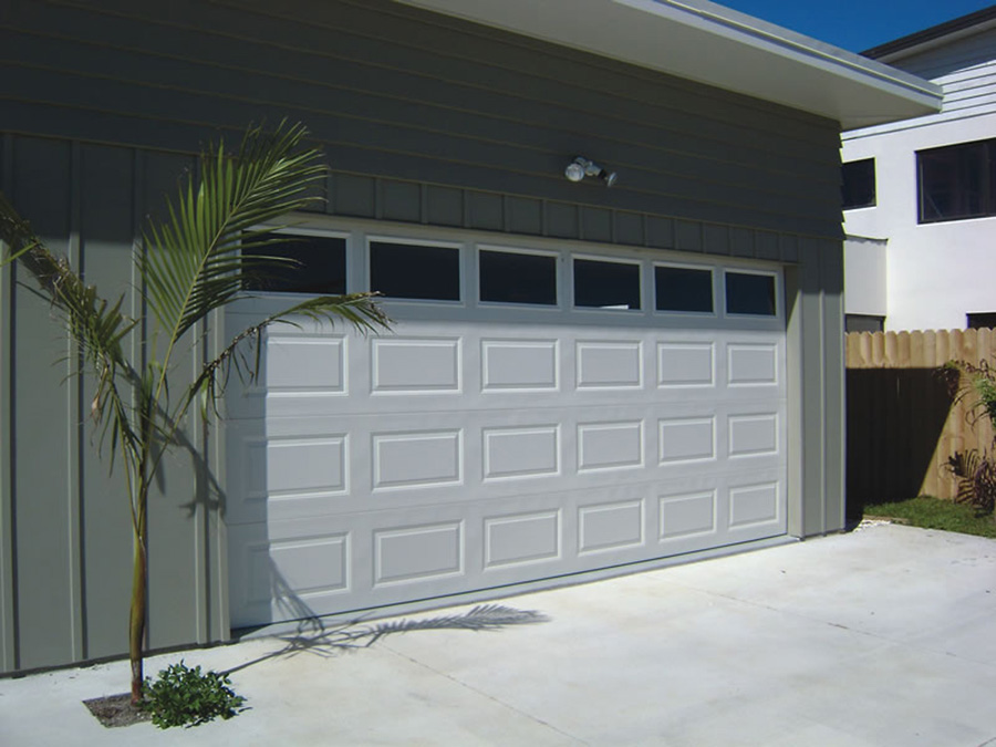 Pressed Panel Garage Door 2